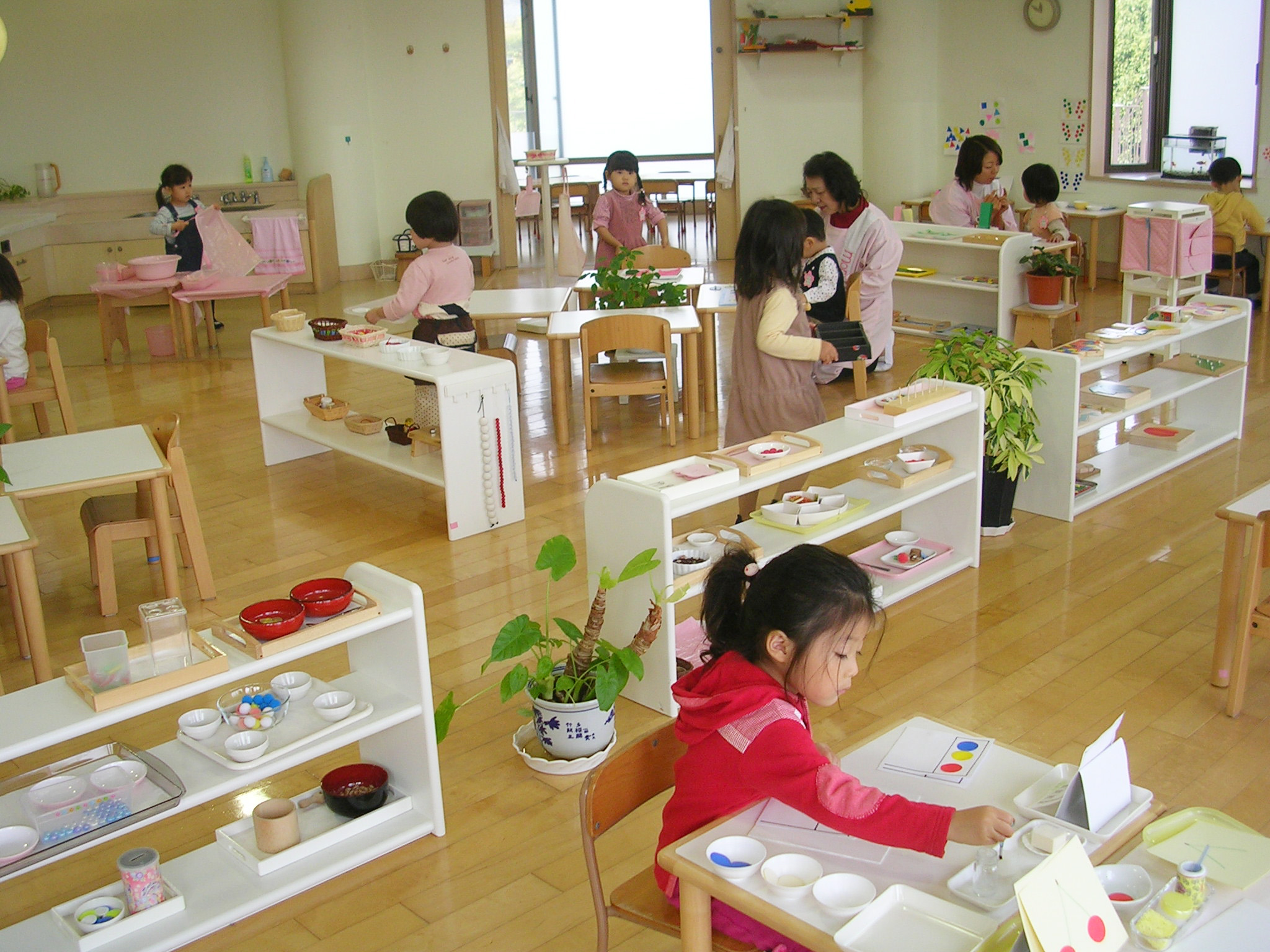 Modern Montessori Classroom ~ More than just montessori the magic of